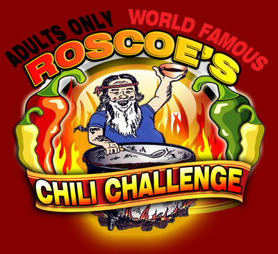 Roscoe's Chili Challenge Vendors - Adults Only
